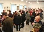 Kisvári Gyula festő kiállításának megnyitója